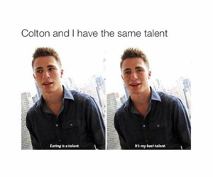 colton haynes, talent, and funny image