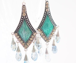 earring, cute, and gift image