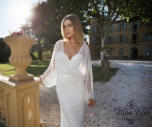 bride, wedding dress, and dress image