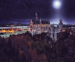 castle, Dream, and fairy tale image
