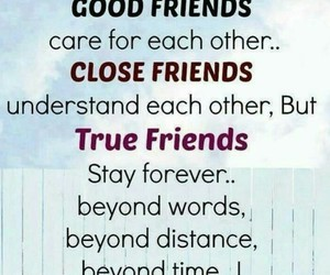 friends, true, and good image