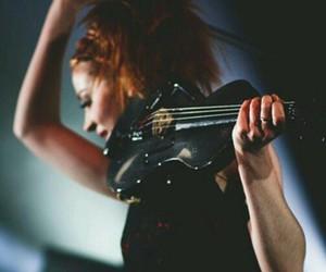dancing, violin, and violinist image
