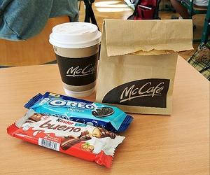 kinder, McDonalds, and oreo image