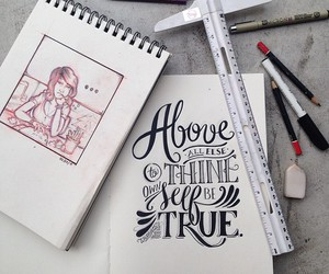 calligraphy, inspirational, and quotes image