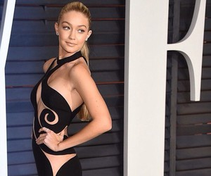 gigi hadid, model, and Vanity Fair image