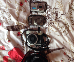 cameras, nikon, and Olympus image