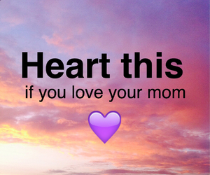 heart, mom, and love image