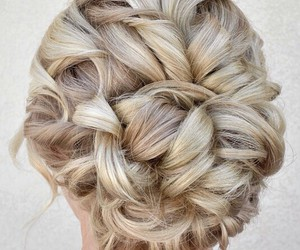awesome, blonde, and bun image
