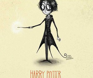 harry potter, tim burton, and art image