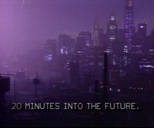 grunge, purple, and future image