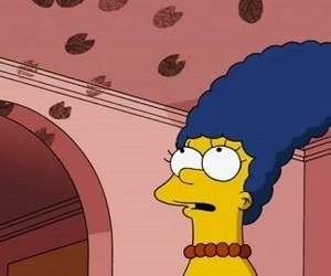 Maggie, spider pig, and simpsons movie image