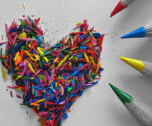 heart and pencil image