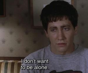 alone, quotes, and donnie darko image