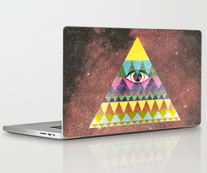 graphic design print, abstract collage art, and macbook apple laptop image