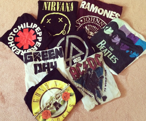 nirvana, green day, and ac dc image