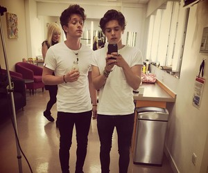 the vamps, bradley simpson, and connor ball image