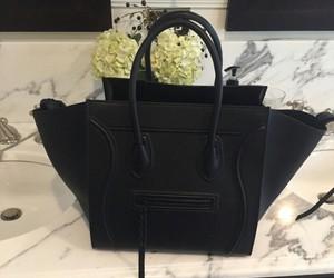 black, fashion, and celine image
