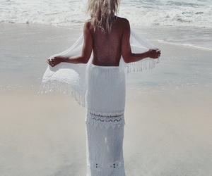 amazing, backless, and beach image