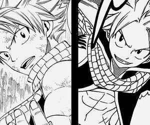 anime, fairy tail, and natsu dragneel image