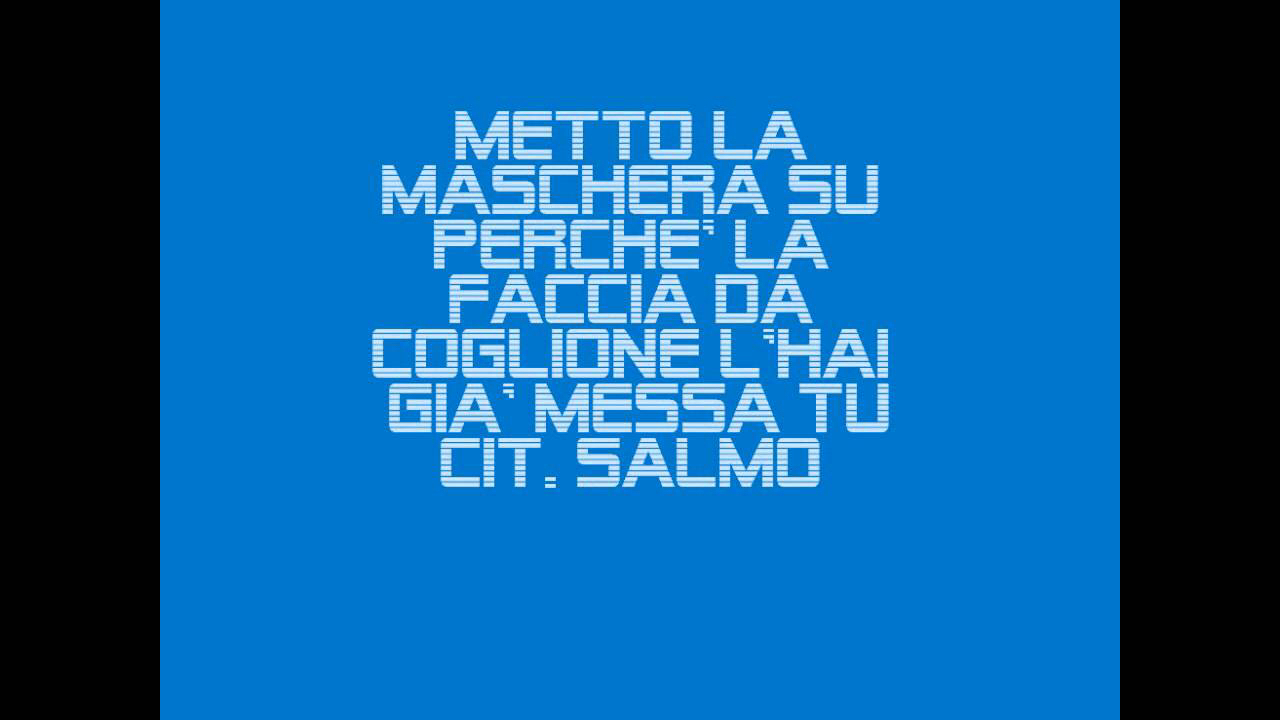 Image About Salmo In Frasi By Alice On We Heart It