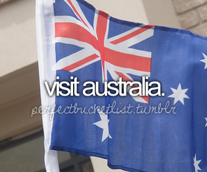 australia, visit, and bucket list image