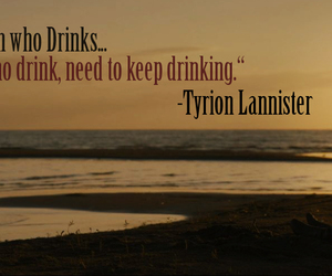 got, game of thrones, and drink image