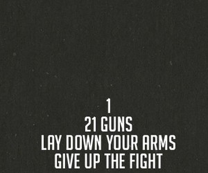 green day, 21 guns, and song image