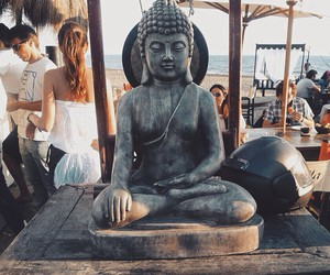 Buddha, summer, and beach image