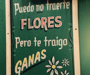 flores, quote, and spanish image