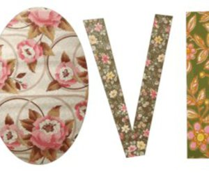 love, flowers, and vintage image