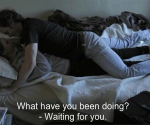 waiting and love image