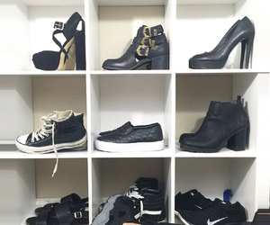 adidas, nike air, and boots image