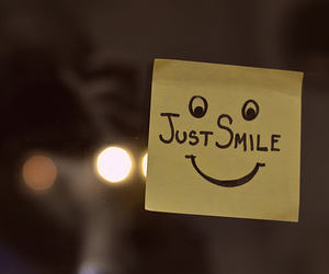 smile and just smile image