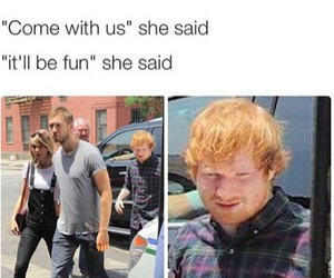 calvin harris, Taylor Swift, and forever alone image