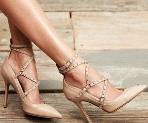 shoes, girl, and bag image