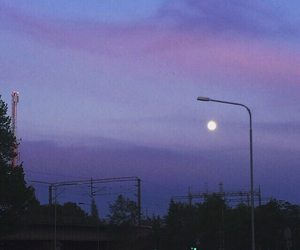 grunge, scenery, and sky image
