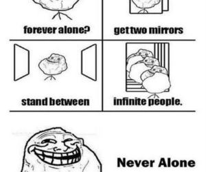 lol and forever alone image