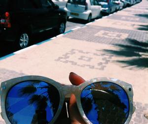beach, sunglasses, and boho image