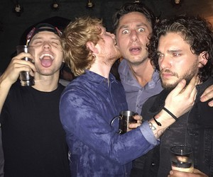 ed sheeran, boys, and kit harington image