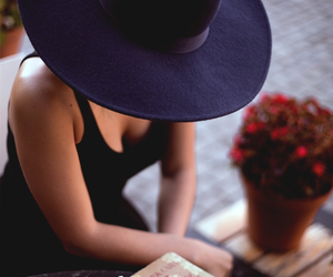 hat, style, and lady image