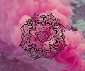 mandala, rosa, and fondos image