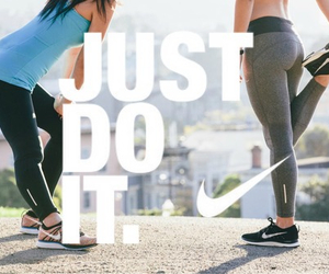fitness, nike, and Just Do It image