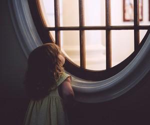 window, child, and Dream image