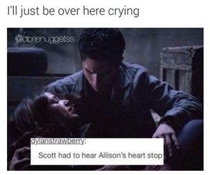 teen wolf, allison, and scott image
