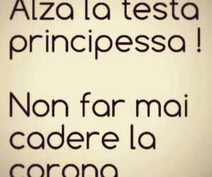 corona, principessa, and frasi italiane image