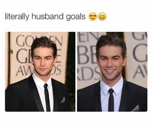 Chace Crawford, goals, and husband image