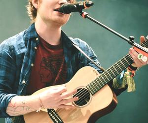 ed sheeran, guitar, and boy image