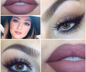 eyes, lips, and kylie jenner image