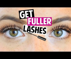 lashes, makeup, and youtube image