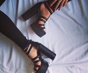 fashion, glamorous, and black image